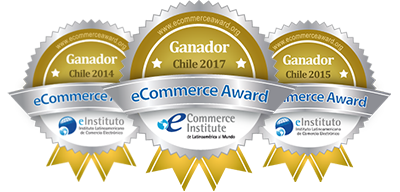 eCommerce award Chile 2014-2015-2017